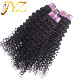 Wholesale Deep Curl Peruvian Hair - Human Hair Extension 7 Days Returns Guarantee 3pcs lot Deep Curl One Donor Unprocessed Brazilian Virgin Hair Free Shipping Hot Sale Wavy