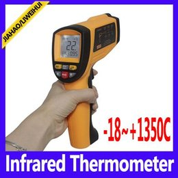Wholesale Digital Infrared Termometer - infrared laser thermometer digital termometer GM1350 Range -18~1350C