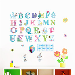 Wholesale Sticker Puzzle - Creative DIY 3D wall sticker horse for kids room Carved Removable kindergarten stickers Cartoon Puzzle letters pvc Decorating 2017 Wholesale