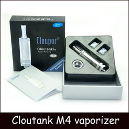 Wholesale Ego M4 - Cloutank M4 clone Airflow Control System Dry Herb & Wax 2 in 1 Vaporizer vs Cloupor cloutank M1 M2 M3 herbal vaporizers ego e cigarette