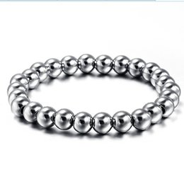Wholesale Gf Bracelets - Titanium Stainless steel exquisite bracelet 26 pcs beads bracelet for female Friendship Best Friends Bracelet Jewelry Bracciali for GF
