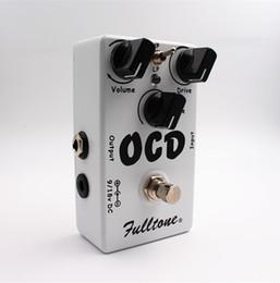 CLONE OCD Obsessive Compulsive Drive Overdrive / Distortion Pédale d'effet pour guitare Sélection des deux modes (HI / LOW) et True Bypass Livraison gratuite ? partir de fabricateur
