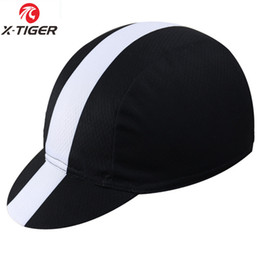 Wholesale Worn Hat - X -Tiger Classic 11Colors Cycling Cap Bike Hat Ciclismo Bicicleta Pirate Headband Cycling Cap Bicycle Helmet Wear Cycling Hat