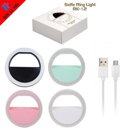 Wholesale Led Lighting For Outdoors - Manufacturer charging LED flash beauty fill selfie lamp outdoor selfie ring light rechargeable for all mobile phone