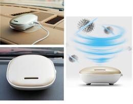 Wholesale Smoke Air Purifiers - New Portable Mini Car Air Cleaner Purifier Automotive Clean Air Smoke Odor Anion Disinfection