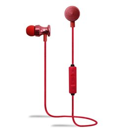 Wholesale Definition Noise Cancelling - 2016 New High Definition Metal Wireless Earbuds Stereo HIFI Bluetooth Headset STN-999 Outdoor Sport Earphone With MIC
