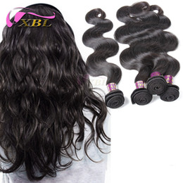 Wholesale Hair Extension Grade 5a - grade 5A Lovely and Bouncy Body Wave Brazilian Unprocessed Virgin Hair Bundles 4 PCS lot,100% Unprocessed Human Hair Extensions