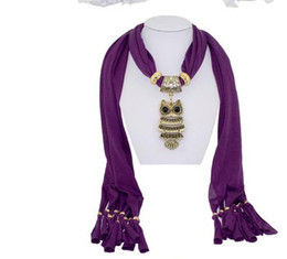 Wholesale Gold Alloy Scarf Charms - 2016 NEW Retro Price Pendant Scarves Fashion Jewelry Scarf Charm Scarfs Lady's Fall Winter Scarf