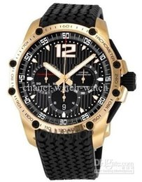 Wholesale Miglia Watch - Luxury Brand New Miglia 18k Rose Gold Mens Automatic Mechanical Watches Mens Wrist Watch Black Dial And Rubber Band