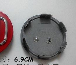 Wholesale Cap Center Wheel 69mm - 4pieces 69mm(+ -1mm) car wheel center cap sets 3colors Red Black Silver for Japanese cars Ho** series ac** C**v C**c sp** Cr** Od**