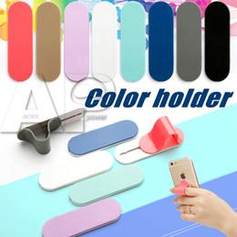 Wholesale Mobile Cradles - Universal Mobile Phone Holder DIY Multi Color Ring Holder Cellphone Cradle Support For iPad Bracket For Tablet