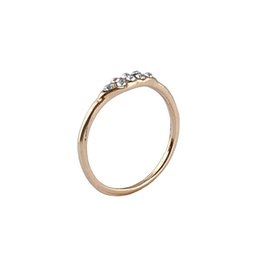 Wholesale eco friendly shipping materials - New Women's Pearl Ring 100% Eco-friendly Zinc Alloy Material White 1pcs   lot Heavy Drop Shipping