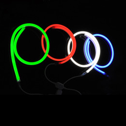 Wholesale 24v Neon - 24V led neon flex lights 50 cm 20 inches cutting unit waterproof led neon signs for hotel club bar disco christmas party