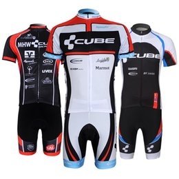 Wholesale Cube Mtb - Crossrider cube pro cycling jersey bike short SET MTB Ropa Ciclismo PRO cycling WEAR mens BICYCLING Maillot Culott