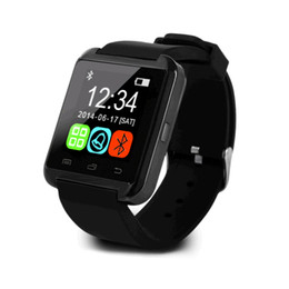 Wholesale Watch Call Phone Sale - Hot sales U8 smart watch phone with bluetooth call play music pedometer anti-lost remote camera message push support Android mobile phones