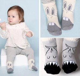 Wholesale Socks Big Foot - New Infant Kids Cartoon Big Mouth Cotton Socks Boys Girls Cute Cotton Socks Baby Non-slip Foot Warm Animal Socks