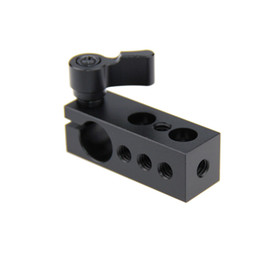 Wholesale 15mm Rod Rig Handles - CAMVATE Thread 15mm Rod Clamp Holder fr SLR Camera Support Rig Monitor LED Handle Grip