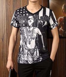 Wholesale Hip Hop Custom Shirts - 2016 hot t shirts man brand tshirts Men's fashion custom design t-shirt,high quality hip hop fashion New style 100% cotton mens t shirt 012