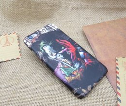 iphone joker Скидка 3D мультфильм PC телефон case case для iphone7 iphone 7 6 6 S plus 5s PC defender case Джокер Человек-паук Капитан Америка protector case GSZ161