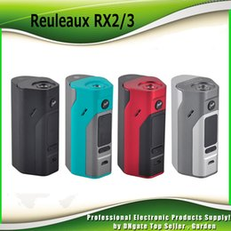 Wholesale Metal Cell - Authentic Wismec Reuleaux RX2 3 TC Mod 150W 200W Replaceable Back Cover for Two Three Cells 100% genuine RX23 Box Mod 2235010