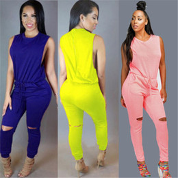 Wholesale Jumper Clubwear - Wholesale- Women Clubwear Jumper Playsuit Bodycon Party Jumpsuit Romper Trousers Plus Size