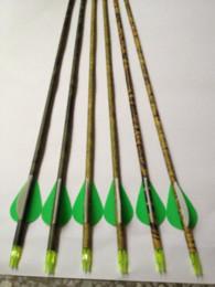"Wholesale Carbon Fiber Arrows Wholesale - Free shipping ELONG quality carbon fiber camo arrow 12 pcs   lot 30"" archery bow shooting hunting outdoor sport game"