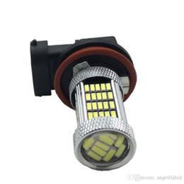 Wholesale h11 plug - H11 Nova Plasma LED Fog Light Bulbs - 6000K White ,Yellow , Blue - Plug-n-Play Lamp Performance Bulb DRL