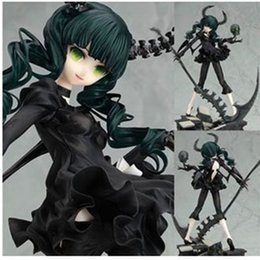Wholesale Black Rock Shooter Dead Master - 2016 Naruto Juguetes free Shipping, Japanese Anime Gsc Death Dead Master Dm Black Rock Shooter Pvc Action Figure Model Collection Toyht781