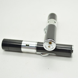 Räucherstäbchen gas online-Aromatherapie-Feuerzeug mit schwarzem Samtbeutel Räuchergefäß Click n Vape Nicht zum Rauchen geeignet Metallpfeife Rasta Sneak a Toke