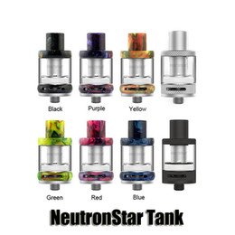 Wholesale Glass 2ml - Authentic Freemax NeutronStar Tank 2ml Airflow Control Sub Ohm Resin Atomizer For 510 Thread Box Mods