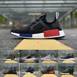 Wholesale Womens Athletic Shoes Cheap - Cheap NMD XR1 BOOST Runner Camo Green Pink White Mens Womens Sport Running Shoes Fashion NMD XR 1 Runner Athletic Shoes Eur 36-45 US 5-11