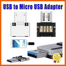 Wholesale Flash Converters - New Arrival Mini USB Flash Disk U Disk OTG Converter Charging Adapter For OTG MOTO HTC Samsung HuaWei Android phones