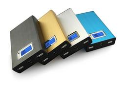 Banco de energía ion online-20000mAh 50000m batería de ion-litio de reserva externa del banco de la energía de la tableta universal USB cargador de batería de emergencia para el teléfono / tablet