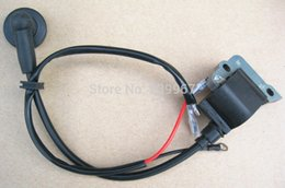 Wholesale Ignition Coil For Scooter - Ignition coil for Chinese 1E50F-1 71CC 4.8HP 2 Stroke engines Hole digger driller EVO scooter earth drill auger free shipping