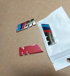 Wholesale Racing Metal - 4.5CM M Power Racing Side Fender Badge Decal Sticker M Logo Emblem for BMW X3 X5 X6 F10 F30 E60 E90 E36