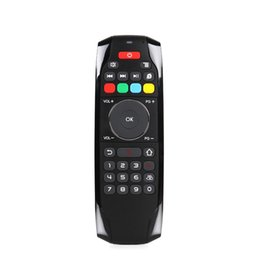 Wholesale Ir Learning Remote - G7 2.4GHz Fly Air Mouse Wireless Keyboard Remote Control with IR Learning Function for Android TV Box Smart Set-top Boxes