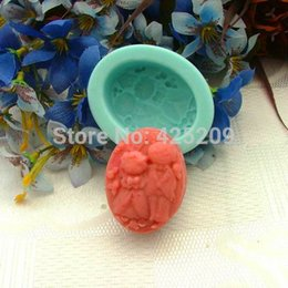 Wholesale Silicone Soap Wedding Mold - 3D wedding Handmade soap silicone mold, soap candle molds life Meet trumpet candle molds,silica gel mould,silicon