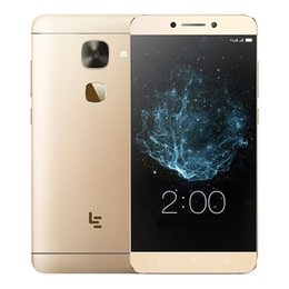 Wholesale S3 Ram - Original Letv LeEco Le S3 Mobile Phone MTK Helio X20 Deca Core 3GB RAM 32GB ROM Android 6.0 5.5inch FHD 16.0MP Fingerprint 4G LTE Cell Phone