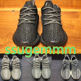 Wholesale Low Sole - double box kamatiti PU+RB Sole best quality shoes Pirate Black Green Suede Moonrock Oxford Tan Running shoes snakers with bag. size US13