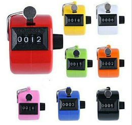 Wholesale Golf Counters - Digital Hand Held Tally Clicker Counter 4 Digit Number Clicker Golf Chrome