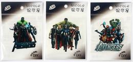 100 adet / grup 7-9 cm Mix Stil Klasik Süper Kahraman Avengers Isı Transferi spor LOGO stil Demir On yamalar Aplike Rozetleri Toptan freeship nereden