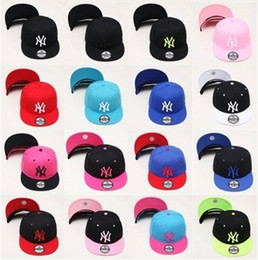 Wholesale Ny Caps Snapbacks - Newest Han edition of NY pink baseball caps flat along Snapbacks can be adjusted Hip hop dance lovers hats for men and women 0351-0352