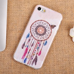 Wholesale Floral Design Wholesale - For iPhone 7 New TPU Case Campanula Sunflower Dandelion Flower Beautiful Floral Painting Gel Soft Phone Back Cover for iphone7 11 Designs