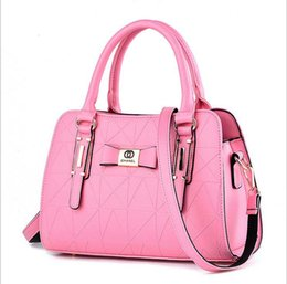 Wholesale Sweet Ladies Fashion - new Lady bags handbag Stereotypes sweet fashion handbags Shoulder Messenger Handbag.