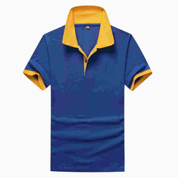 Wholesale Cotton Blank Polo - 2015 summer short-sleeved t-shirt printing shirt printing men and women the same section blank shirt nightwear wholesale