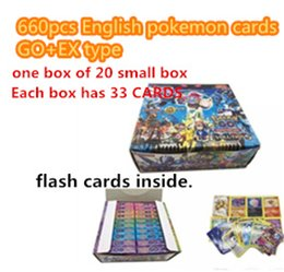 Wholesale Card K - New Fashion P o k e Trading Cards Games Steam Seige English Edition Anime P o c ket Monsters Cards Toys