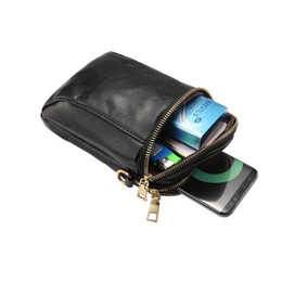 Wholesale Chinese Leather Handbags - Women Crossbody CellPhone Purse Wallet Bag Soft PU Leather with Shoulder Strap 6.4 Inches For iPhone X 8 7 Samsung note8 OppBag