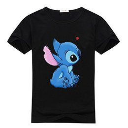 Wholesale Lilo Stitch Shirt Women - DIYHoody Lilo and Stitch Women's Tshirts, DIY T-shirts Lilo and Stitch