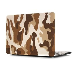 Wholesale Macbook Pro 13 Skin - Army Camouflage Laptop Hard Cases For Macbook Air 11.6 12 13.3 Retina 15.4 Pro New 13.3Pro A1706 A1708 15.4pro A1707 Skin Protective Shell