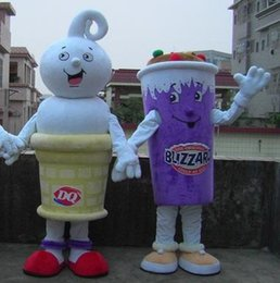Wholesale Ice Mascot - SX0727 light and easy to wear an adult ice cream mascot costume for adult to wear